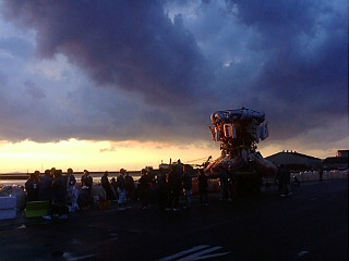 観音寺の港