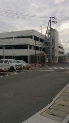 三豊総合病院の駐車場